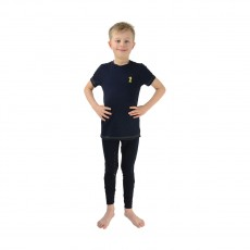 Little Rider Lancelot TShirt by Little Knight  (Navy/Yellow)