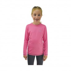 Little Rider Base Layer  (Rose Pink/Navy)