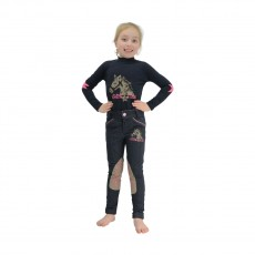 Little Rider Riding Star Long Sleeved Top (Navy)