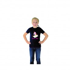 Little Rider Unicorn Magic Tshirt (Navy/Pretty Pink)