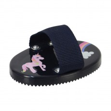 Little Rider Little Unicorn Curry Comb  (Navy/Pink)