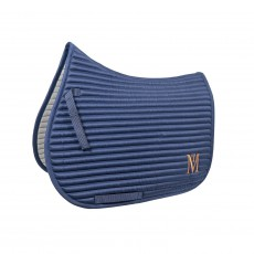 Mark Todd Quilted Saddle Pad (Navy/Silver)