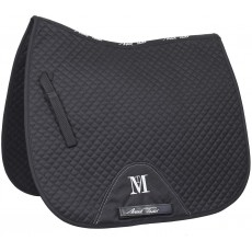Mark Todd Super Cotton High Wither Dressage Saddlepad (Black)
