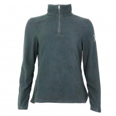 Mark Todd Women's Half Zip Fleece (Grey/Silver)