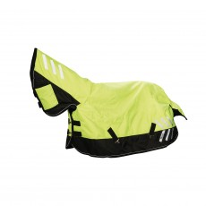 Masta Avante Hi-Viz 200g Fixed Neck Turnout Rug  (Yellow/Black)