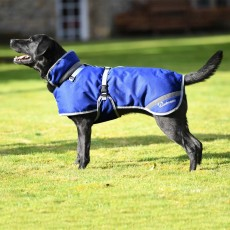 Woofmasta Deluxe Dog Coat (Navy)