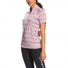 Ariat (Sample) Women's Cambria Jersey (Rose Violet Stripe)