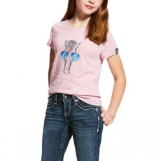 Ariat (Sample) Girl's Haberdashery Tee (Lilac Pearl)