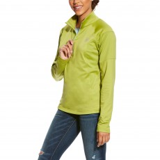 Ariat (Sample) Women's Tolt 1/2 Zip (Lime)