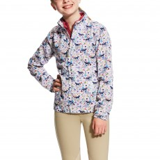 Ariat (Sample) Girl's Avery Jacket (Garden Pony Print)