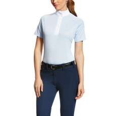 Ariat (Sample) Women's Hex Showstopper Top (Blue Cloud)
