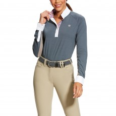 Ariat (Sample) Women's Marquis Long Sleeve Show Top (Weathered Slate)