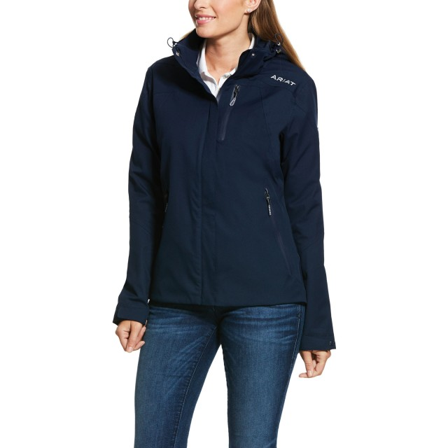 Ariat Women's Coastal Waterproof Jacket (Navy)