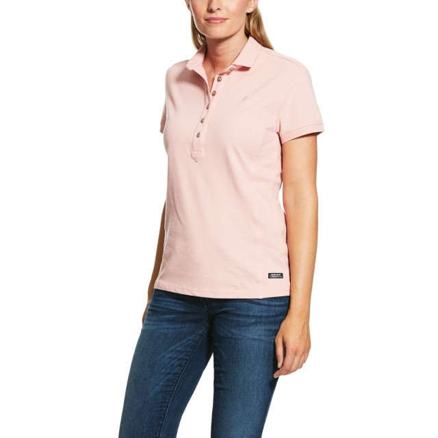 Ariat Women's Prix Polo 2.0 (Bridal Rose)