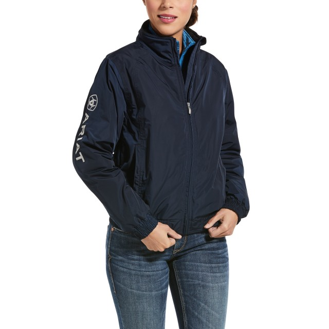 Ariat Women's Team Stable Jacket (Navy)