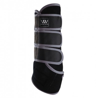 Woof Wear Dressage Wrap Colour Fusion (Black/Brushed Steel)