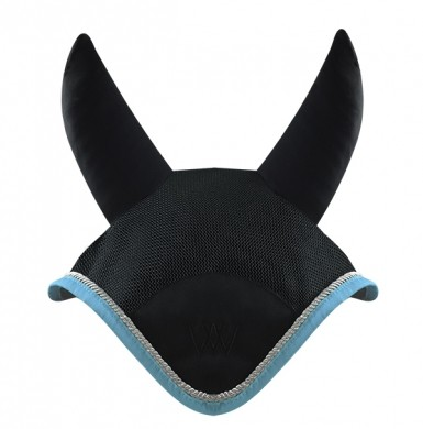 Woof Wear Fly Veil (Black/Powder Blue)