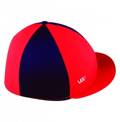 Woof Wear Hat Cover (Royal Red/Navy)