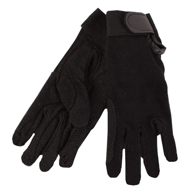 Saddlecraft Kids Gripfast Gloves (Black)
