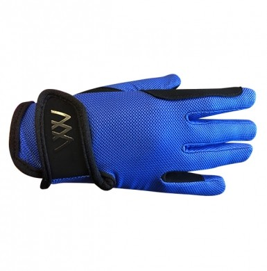 Woof Wear Young Rider Pro Gloves (Electric Blue)
