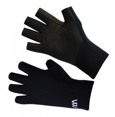 Woof Wear 3/4 Superstretch Neo Riding Gloves (Black)