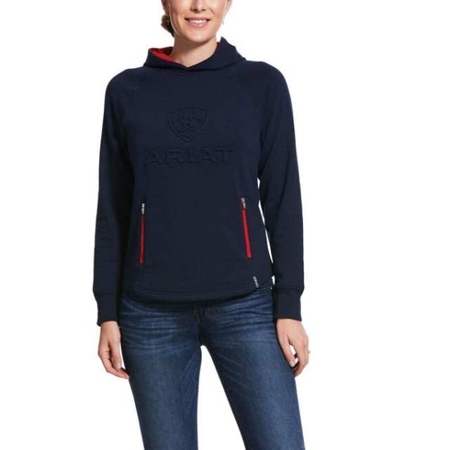 Ariat Women's 3D Logo Hoody (Team)