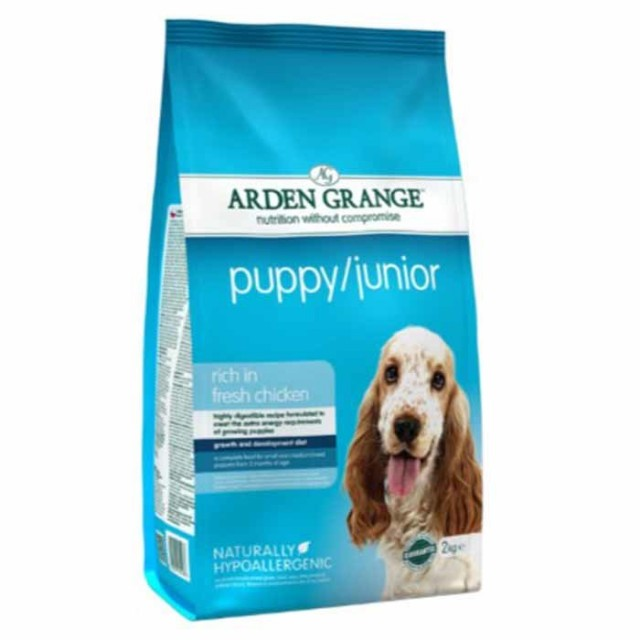 Arden Grange Puppy/Junior (Fresh Chicken and Rice) 12kg