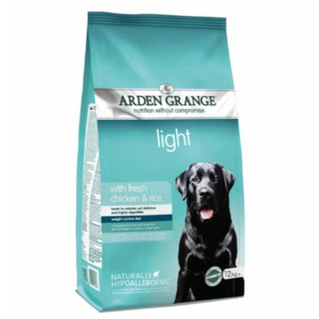 Arden Grange Light (Fresh Chicken & Rice) 12kg
