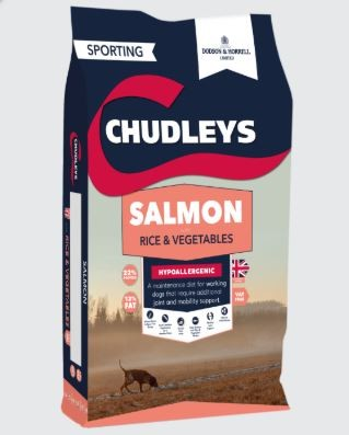 Chudleys Salmon, Rice and Vegetables (15kg)