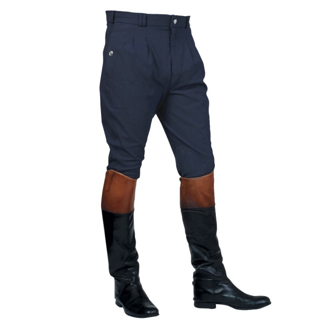 Mark Todd Men's Auckland Breeches (Navy)