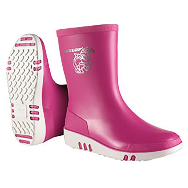 Dunlop Mini Infant Wellies (Pink)