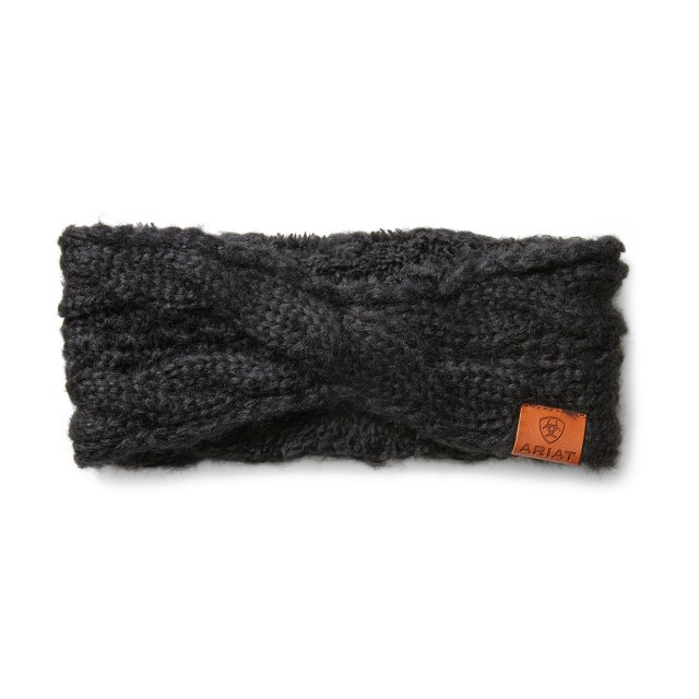 Ariat Cable Headband (Black)