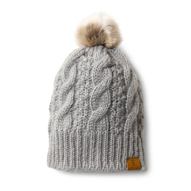 Ariat Cable Beanie (Sleet)