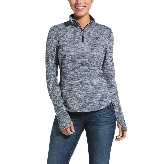 Ariat Womens Gridwork Base Layer (Navy)