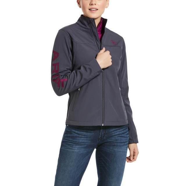 Ariat Women's New Team Softshell Jacket (Periscope)