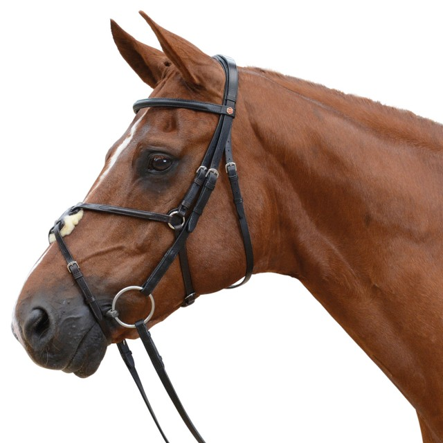 Albion KB Competition Snaffle Bridle with Grackle