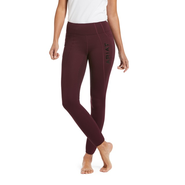 Ariat Women's Attain Thermal Full Seat Tight (Wine Tasting)