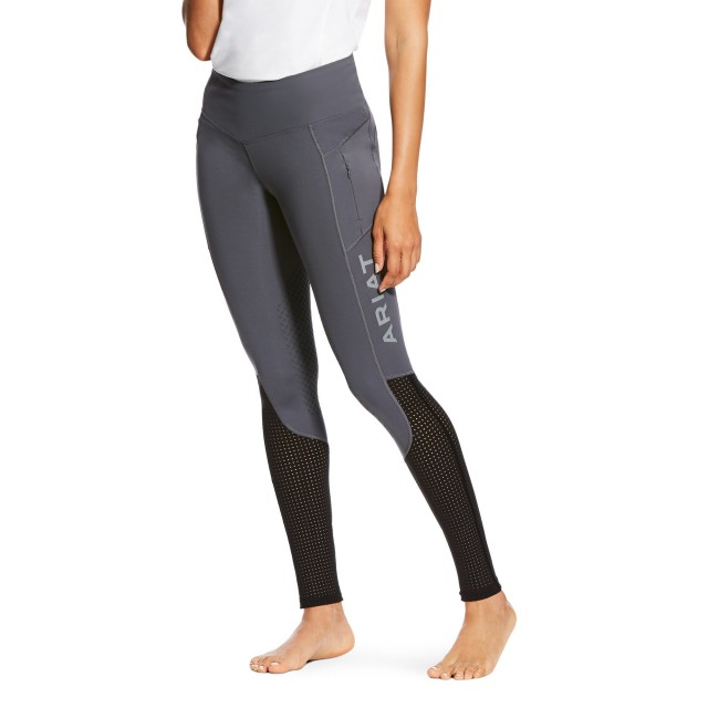 Ariat (Ex Display) Women's EOS Knee Patch Tight (Grey)