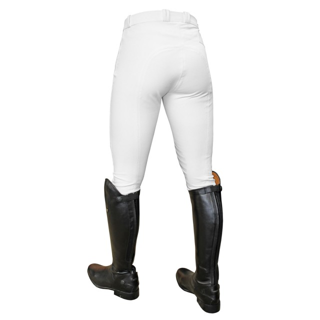 Mark Todd Women's Coolmax Grip Breeches (White)