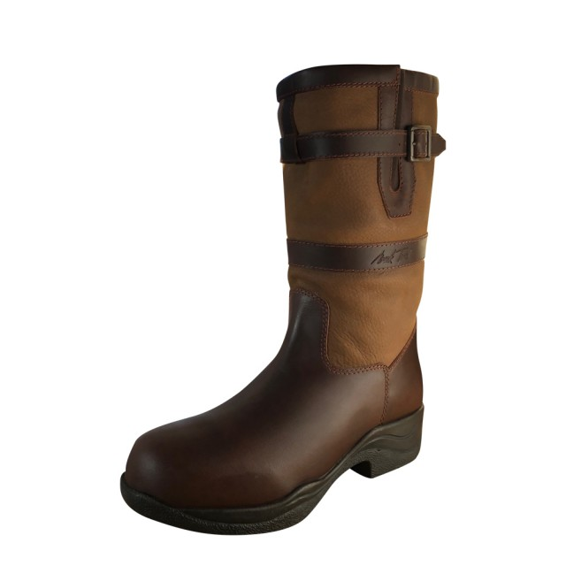 Mark Todd Adults Short Country Boots (Brown)