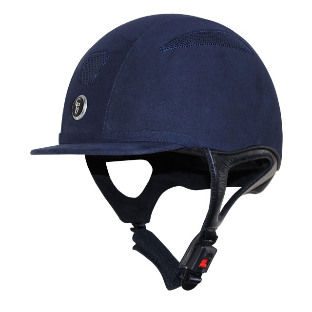 Gatehouse Challenger Suede Riding Hat (Navy)