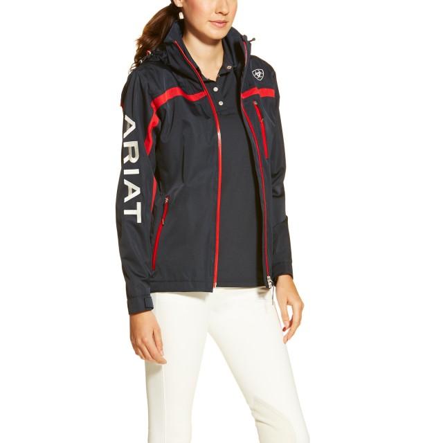 f85ff54d09 Ariat Women s Team II Waterproof Jacket Navy - Wychanger Barton