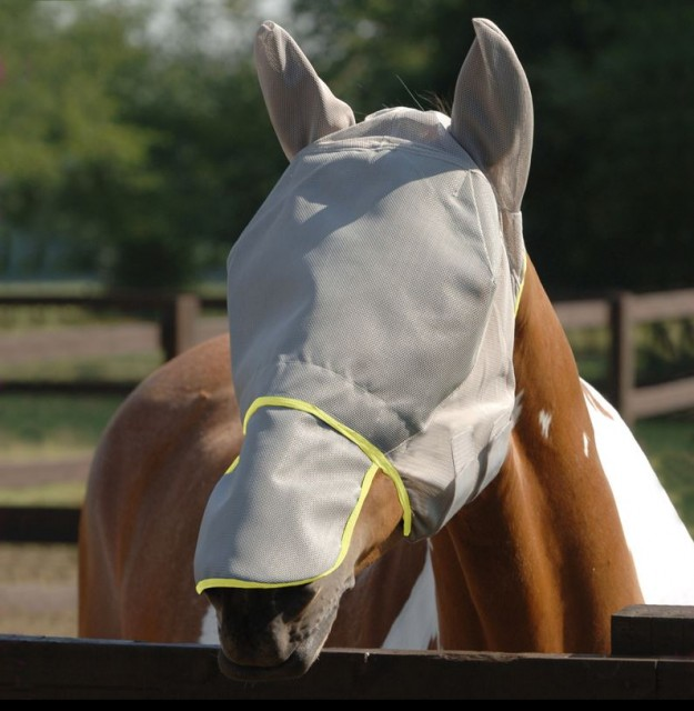 Equilibrium Field Relief Fly Mask Max (Grey)