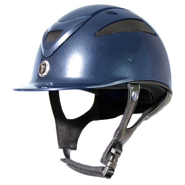 Gatehouse Conquest MKII Riding Hat (Metallic Navy)