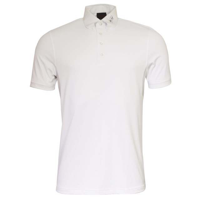 Mark Todd Brad Mens Competition Polo Shirt (White)