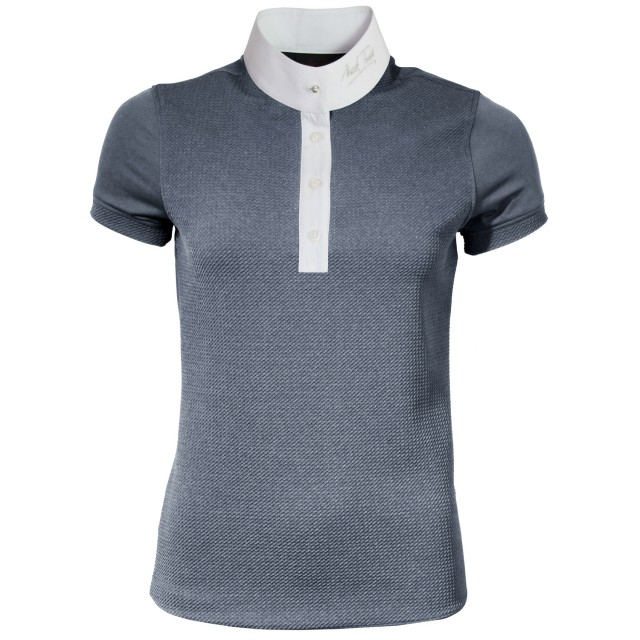 Mark Todd Women's Alicia Competition Polo Shirt (Grey)