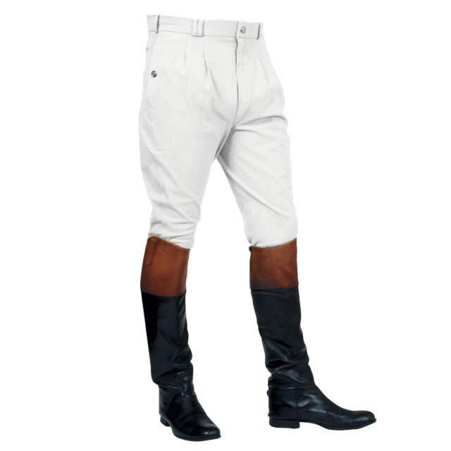 Mark Todd Men's Auckland Breeches (White)