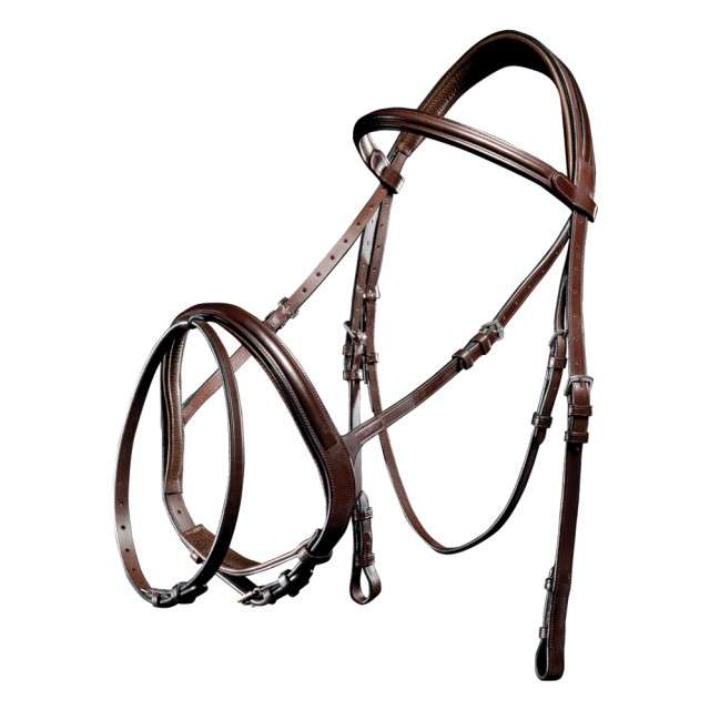 Mark Todd Performance Flash Bridle (Havana)