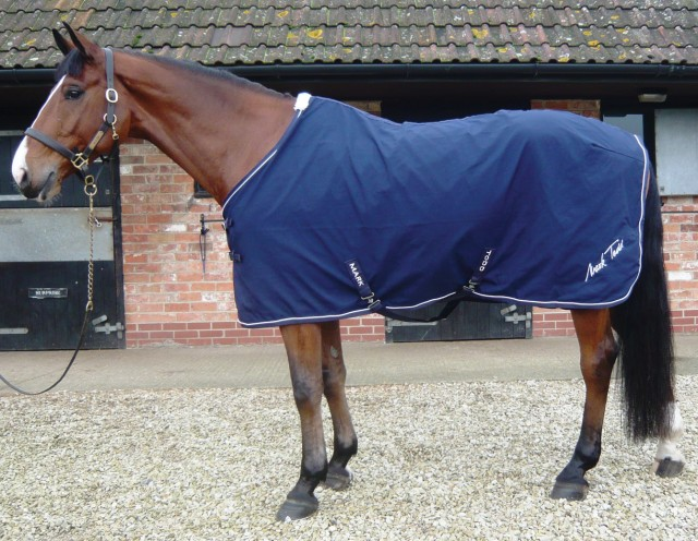 Mark Todd Universal Sheet (Navy & White)