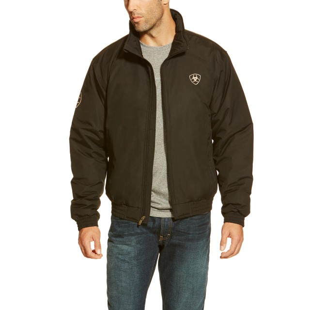 Ariat Men's Stable Team Jacket (Black)